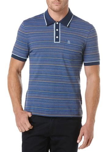 ORIGINAL PENGUIN RETRO 50S MOD STRIPE PRINT EARL