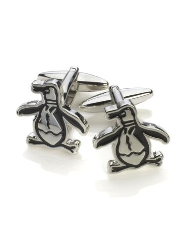 ORIGINAL PENGUIN Retro Penguin Logo Cufflinks