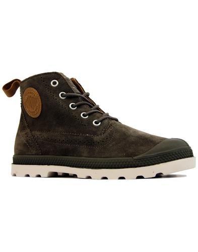 Pampa London PALLADIUM Retro Mid Suede Boots (MB)