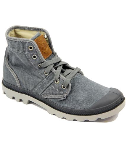 Pallabrouse LC PALLADIUM Retro Linen Canvas Boots