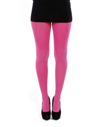 + PAMELA MANN 80 Denier Opaque Tights in Pink