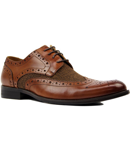 Naughton PAOLO VANDINI 1960s Mod Donegal Brogues