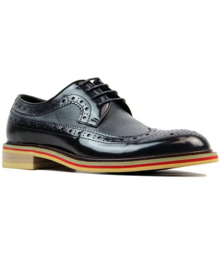 Nodmore PAOLO VANDINI 60s Mod Leather Mix Brogues