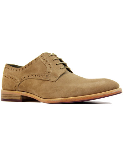 Ronnie POALO VANDINI Mod Suede Derby Brogues (M)