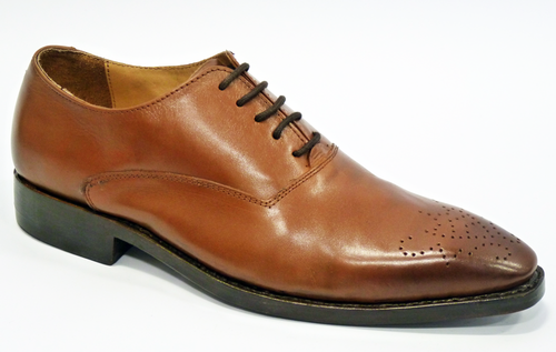 Claudio PAOLO VANDINI 60s Mod Handcrafted Brogues