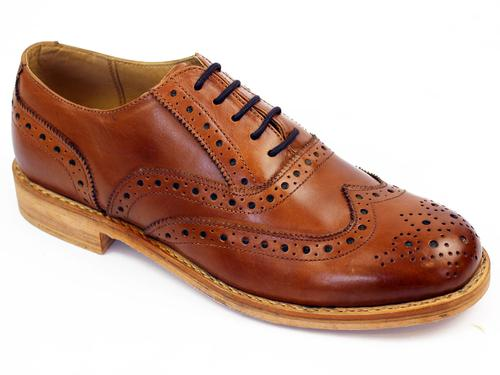 Horatio PAOLO VANDINI 60s Mod Leather Sole Brogues