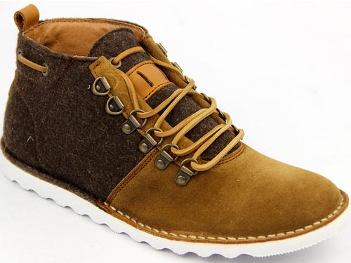Thatcher PAOLO VANDINI Fabric Mix Hiking Boots CB