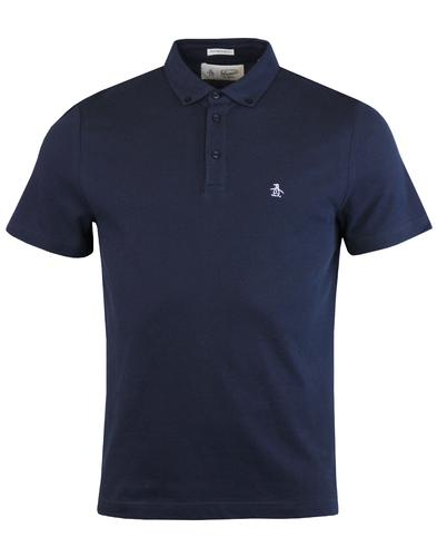 ORIGINAL PENGUIN Mod Button Down Pique Polo Shirt