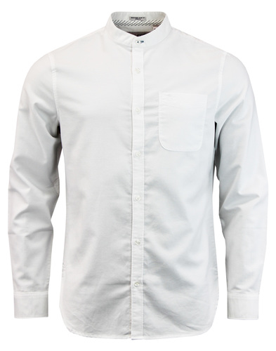 ORIGINAL PENGUIN Mod Grandad Collar Oxford Shirt W