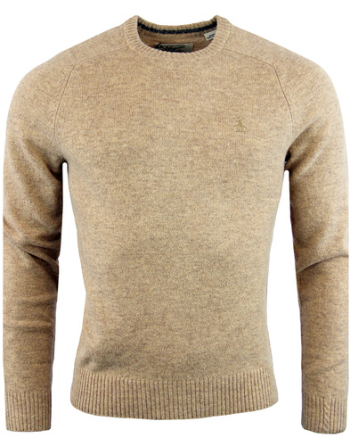 ORIGINAL PENGUIN Retro Lambswool Crew Neck Jumper