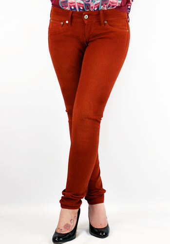 Skittle PEPE JEANS Retro 60s Indie Skinny Jeans T