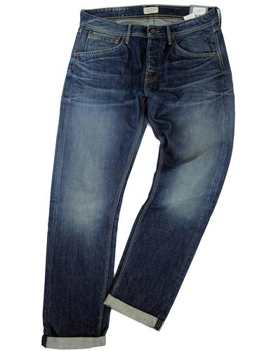 PEPE JEANS MENS RETRO MOD DENIM JEANS STEELE