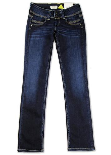 PEPE JEANS WOMENS VENUS REGULAR RETRO DENIM JEANS