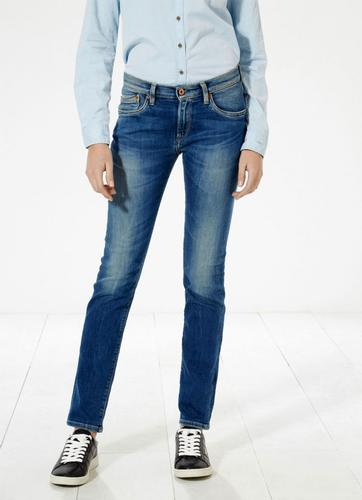 PEPE JEANS WOMENS RETRO MOD SLIM DENIM JEANS