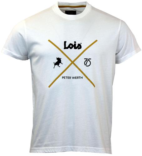 LOIS x PETER WERTH Retro Logo T-Shirt