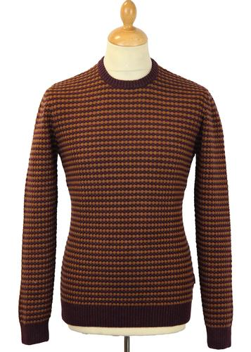 PETER WERTH RETRO MOD 60S BOBBLE JUMPER