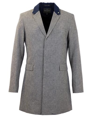 PETER WERTH RETRO MOD 70S DOGTOOTH TOP COAT