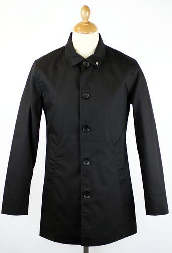 Twyford PETER WERTH 60s Mod Bonded Cotton Raincoat