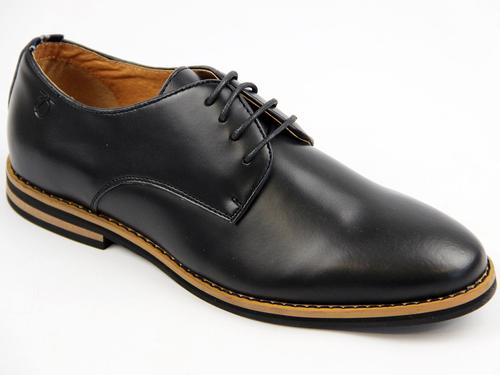 Nesbitt PETER WERTH Mod Smooth Leather Derby Shoes