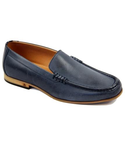 PETER WERTH RETRO MOD LEATHER LOAFERS SHOES