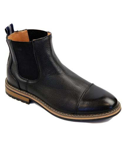 PETER WERTH RETRO MOD TUMBLED CHELSEA BOOTS