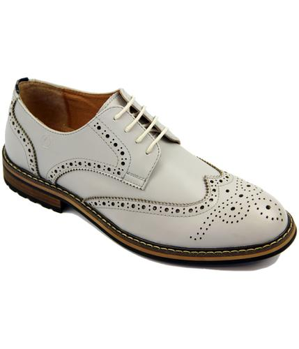PETER WERTH RETRO MOD GREY TURNMILL BROGUES