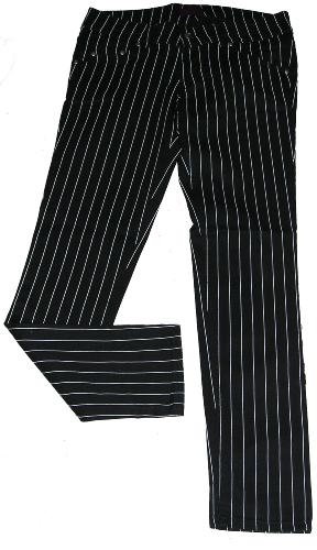 6079618d MONTANA' - RETRO PINSTRIPE DRAIN PIPE JEANS Killer Drainpipes with