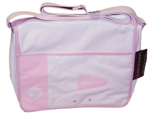 'Think Pink' - Retro Dunlop Greenflash Flap Bag