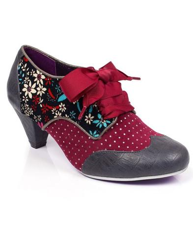 End Of Story POETIC LICENCE Cord Floral Star Heels