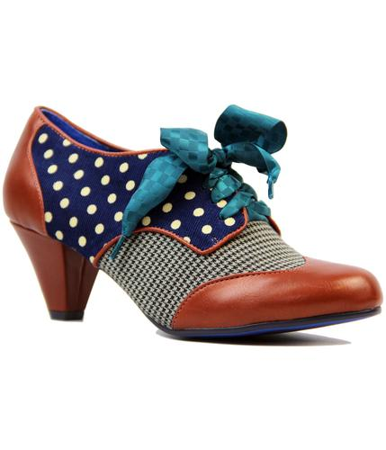 POETIC LICENCE END OF STORY POLKADOT BROWN SHOES