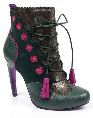 Folklore POETIC LICENCE Retro Lace Ankle Boots G