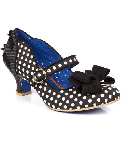 POETIC LICENCE MISS THING POLKA DOT VINTAGE SHOES