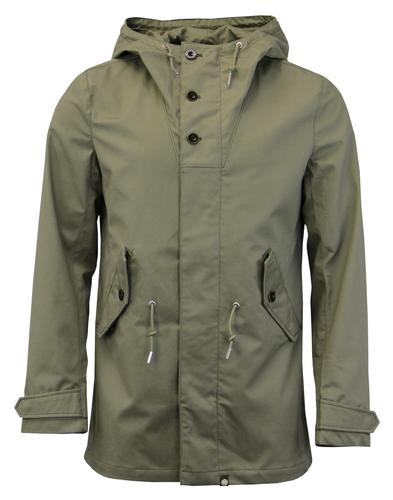 Baxter PRETTY GREEN 60s Mod Bonded Cotton Parka MG