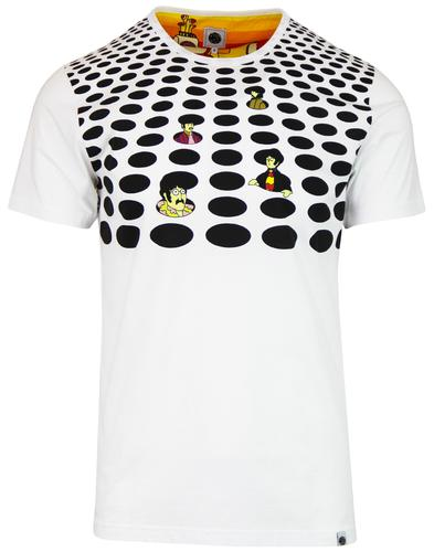PRETTY GREEN x THE BEATLES Sea Of Holes T-shirt