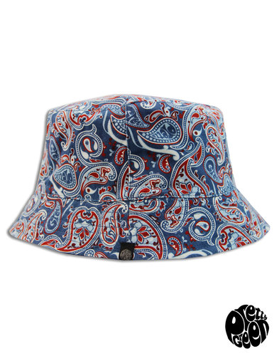Camley PRETTY GREEN Reversible Paisley Bucket Hat