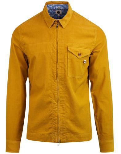Cord zip jacket