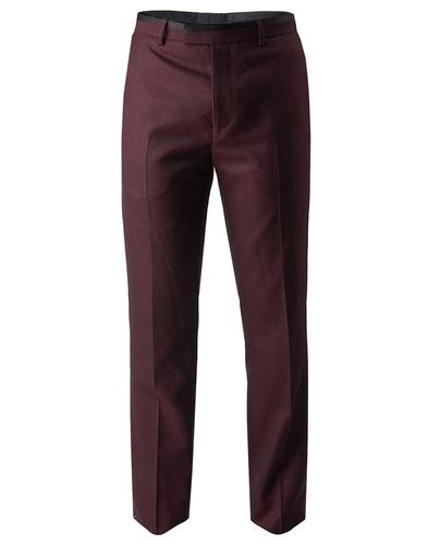 Derby PRETTY GREEN Mod Jacquard Tailored Trousers