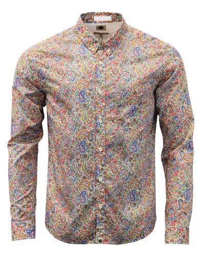 Calbourne PRETTY GREEN Mod Liberty Paisley Shirt