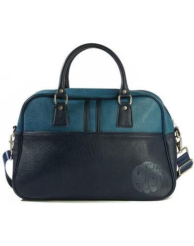 PRETTY GREEN Retro 70s Mod Bowling Bag Holdall (N)