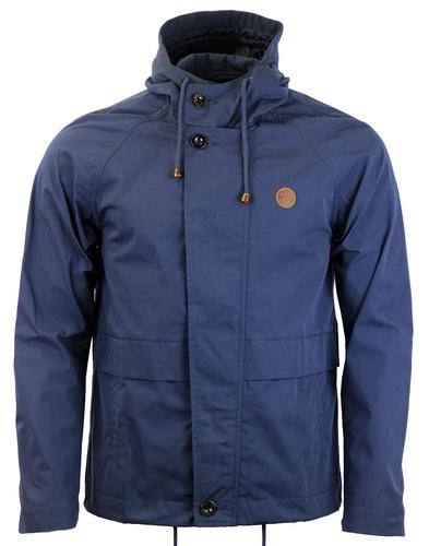 PRETTY GREEN Egerton Hooded Short Parka Jacket (N)