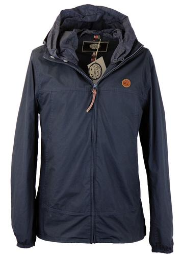 PRETTY GREEN RETRO MOD FESTIVAL JACKET NAVY
