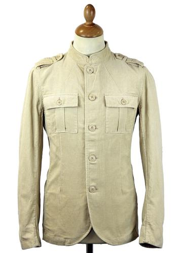 Lennon PRETTY GREEN 60s Mod Military Cord Jacket S