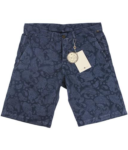 PRETTY GREEN Retro Indie Paisley City Shorts N