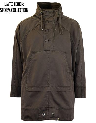 PRETTY GREEN STORM THORGERSON CAPE PONCHO