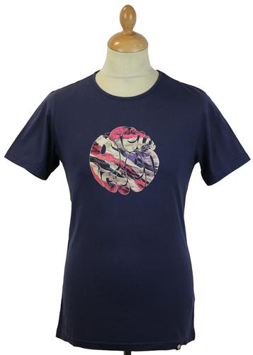 PRETTY GREEN UNION JACK FLAG LOGO RETRO MOD TEE