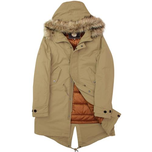 Pretty Green Fishtail Parka
