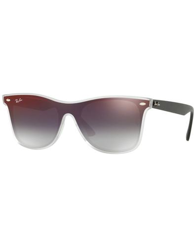 5397c50c96c RAY-BAN Blaze Wayfarer Retro Mirror Lens Sunglasses in Red