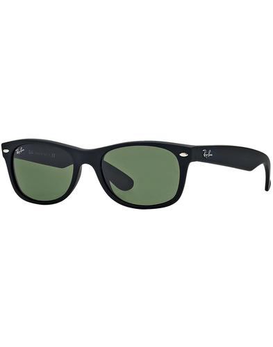 New Wayfarer RAY-BAN Retro Matte Black Sunglasses
