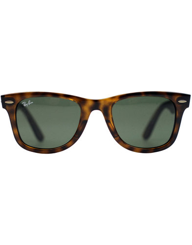 Wayfarer Ease RAY-BAN Retro Mod Sunglasses -Havana