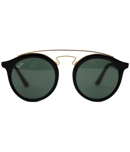 Teashades RAY-BAN Mod Round Clubmaster Sunglasses